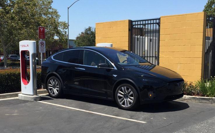 Model X Supercharging